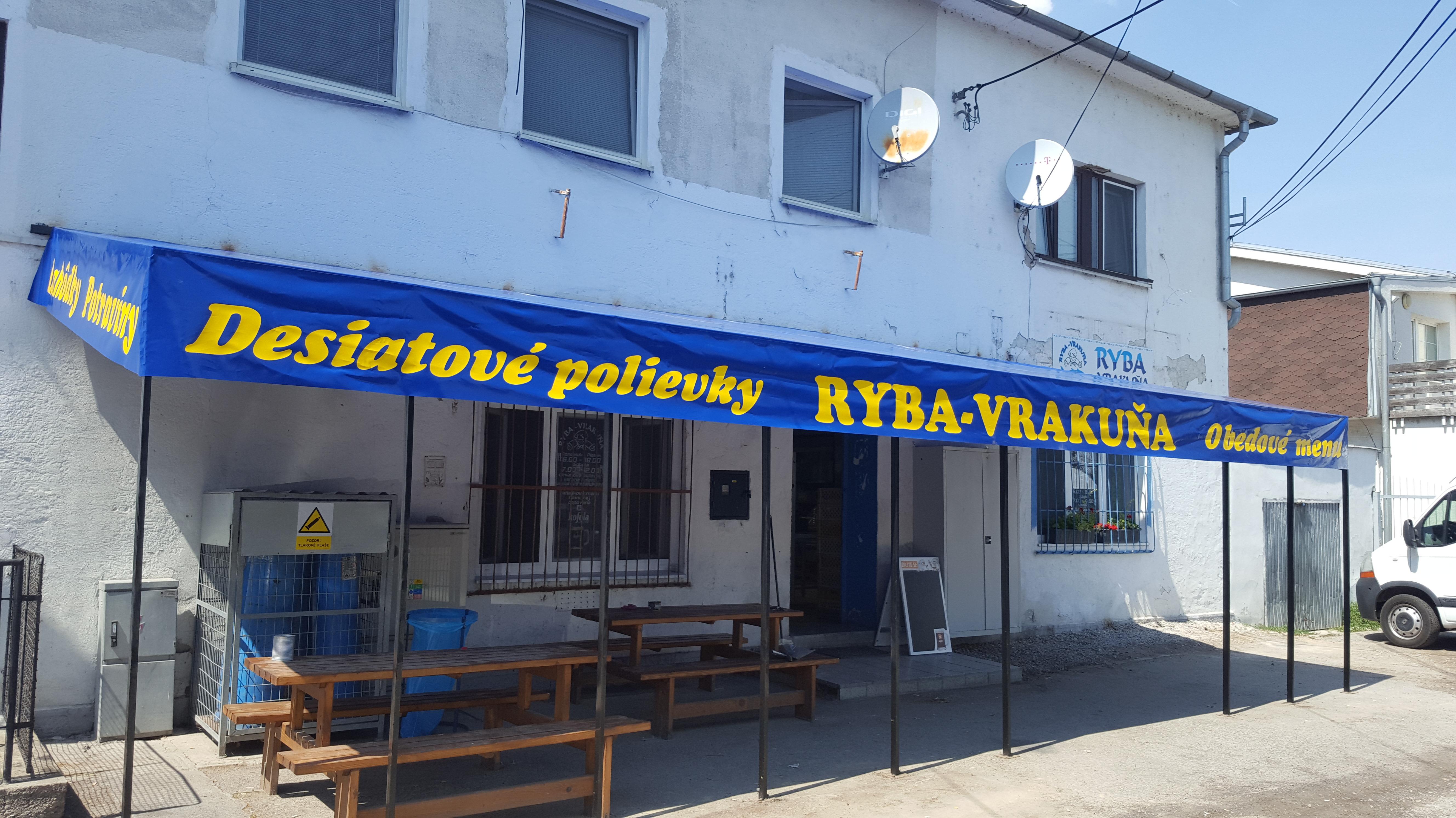 Krycia plachta na prístrešok s potlačou Bratislava